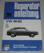 Reparaturanleitung VW Typ 4 411 / 412 E + LE, Baujahre 1968 - 1974