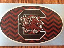 "South Carolina Gamecocks  6"" Chevron Logo Decal"