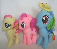 3 Sweet My Little Pony Plush Dolls, Rainbow Dash And Pinkie Pie