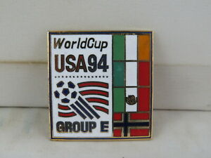 1994 World Cup of Soccer Pin - Group E with Country Flags by Peter David