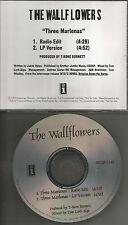Jakob Dylan THE WALLFLOWERS Three Marlenas w/ RARE RADIO EDIT PROMO DJ CD Single