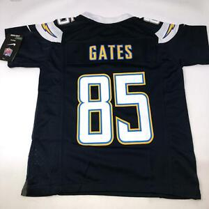 Nike LA Chargers NFL Antonio Gates Throwback #85 Jersey Youth Size 10/12 Medium