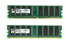 KINGSTON KVR400X64C3AK2/2G / KVR400X64C3A/1G 2GB 2 x 1GB PC3200 400MHz 184 PIN