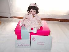 Marie Osmond Picture Day Tiny Tot Doll Baby Marie COA + Doll Necklace