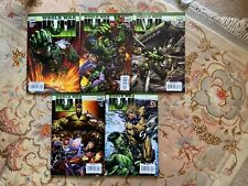World war Hulk collectable marvel comics lot 1 of 5 to 5 of 5