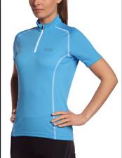 NWT Gore Bike Wear Contest Lady Cycling Jersey Shirt Women's Blue Medium M