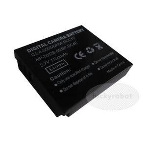 Battery for Panasonic Lumix CGA-S005 DMC-FS1 DMC-FS2 DMC-FX01 DMC-FX07 DMC-FX100