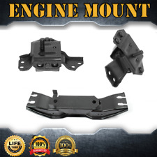Engine Mount & Auto Trans Mount Set 3PCS For 1999-2004 FORD MUSTANG V6 3.8L AT