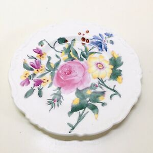 Vibrant Floral Pretty Coalport Posydale Bone China Saucer Plate Made In England