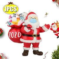 Christmas Tree Ornaments 2020 Santa Wearing Hanging XMAS DIY Party BEST GIFTS
