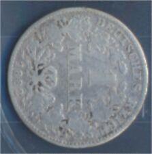 alemán Imperio añosägernr: 9 1882 años muy ya Plata 1882 1 marcos pequeñ(7849024
