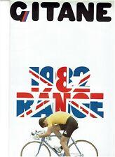 GITANE CYCLE 1982 UK RANGE CATALOGUE / BROCHURE -  VUELTA OLYMPIC