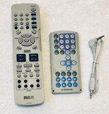 "Set of 2 Remote Controls RCA Audiovox DVD Player 13"" Audio Cord"