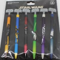 Disney Parks Star Wars Charaktere Stifte Set 6 Stück Yoda, C-3PO, R2-D2 NEU OVP
