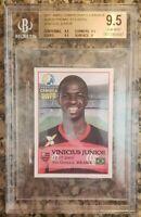 2017 Vinicius Junior Flamengo Abril Campeanato Rookie RC BGS 9.5 Gem Mint (4547)
