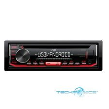 JVC KD-R492 SINGLE DIN CD AUX USB MP3 PLAYER CAR RECEIVER