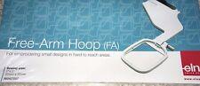 "JANOME MC11000 or ELNA 9500 & 9600 Embroidery Free Arm Hoop FA 2x2"" 5x5cm"