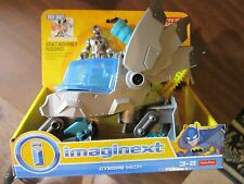 Fisher Price Imaginext DC Super Friends New Cyborg Mech vehicle robot Justice