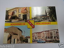 6174 54 SOUVENIR DE HEILLECOURT mairie l eglise des saints anges la cité hier au