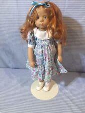 "Gotz Fanouche Sylvia Natterer Vintage 18"" Doll"