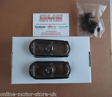 Volkswagen Transporter T5 + CADDY - side repeater / indicator lens SMOKED TINTED