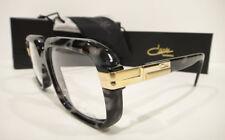 6af0b3107c6 Cazal 607 3 Eyeglasses Frames 607 Color 090 Black Marble Gold Authentic New