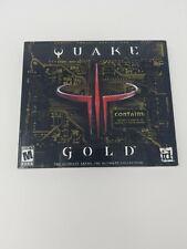 Quake 3 Gold (Jewel Case) - PC Arena & Team Arena New Sealed