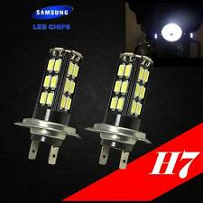 H7 Samsung LED Chip 30 SMD Xenon Hyper White 6000K Lamp Light Bulb For Bike