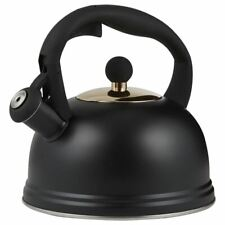 Typhoon - Otto Black Living Stove Top Kettle 2ltr