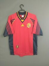 Spain Jersey 1998 1999 Home M Shirt Mens Red Camiseta Football Adidas ig93