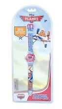 """Disney Children's Quartz Watch Red Blue """"Planes - Dusty"""" G-60412114719350"""