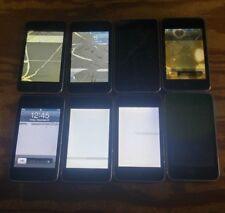 Lot of 8 Apple iPod Touch 2nd Gen A1288 8GB Black - BAD LCD - READ BELOW