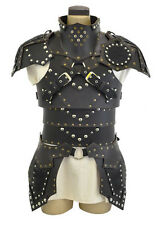 Leather medieval fantasy  theatrical celtic Armor LARP SCA viking Roman armour