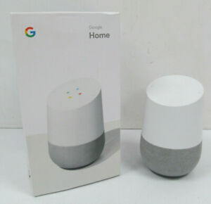 Google Home Voice Activated Wireless Smart Speaker With Google Assistant - CHALK