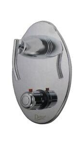 Danze D560054 - Chrome - Sonora 3-Port 2-Handle Valve Douche Thermostatique