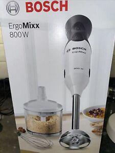 Bosch ErgoMixx Hand Blender 800W - White/Anthracite (MS6CA4150G)