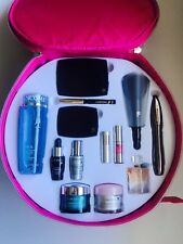 LANCOME O BEAUTY CASE GENIFIQUE VISIONAIRE MASCARA LIPSTICK BLUSH EYE PALETTE