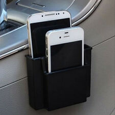 1pc 2layer Storage box Black Cell Phone Holder For Car can Stick or Hang Useful