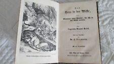 Livre rare Allemand 1852  Das Haus in Der WûsteCapitän Mayne Reid, Dr. A. Diezm