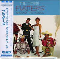 PLATTERS-THE FLYING PLATTERS AROUND THE WORLD-JAPAN MINI LP CD BONUS TRACK C94