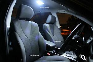 Super Bright HID 6000K White LED Interior Light Kit for Toyota Hilux 2005-2020