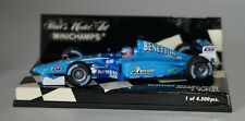 MINICHAMPS 430010098 - BENETTON RENAULT SPORT showcar 2001 JENSON BUTTON  1/43