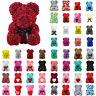 Heart Teddy Bear Rose PE Foam Soap Flower Bear Birthday Valentine Day Xmas Gift