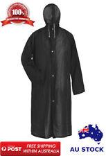 Raincoat Waterproof Rain Jacket Outdoor Womens Mens Hooded Long Coat Unisex