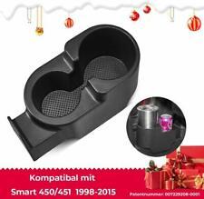 Upgrade Doppelt Getränkehalter Cupholder für Smart fortwo 450 98-07 451 2007-15