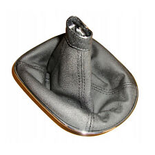 Alfa Romeo 147 Schaltsack Handbremse Echtes Leder Grau Eis 100/%