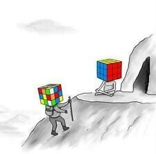 Rubik's Cube # 11 - 8 x 10 T-shirt iron-on transfer Guru