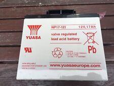Yuasa Np7-12 battery 12V 17Ah