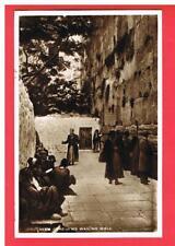 CPA - MOYEN ORIENT -   JERUSALEM  THE JEWS WAILING WALL