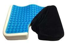 Kieba Coccyx Seat Cushion, Cool Gel Memory Foam Large Orthopedic Tailbone Pillow